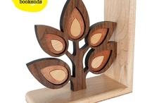 Z drewna + szablony