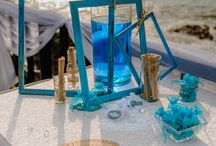 beach blue wedding / wonderful beach wedding pics and ideas