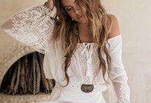 Vestido / Vestido de renda