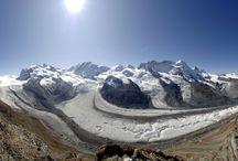 Dufourspitze 4634m npm / 3. najwyższy szczyt Europy - Szwajcaria