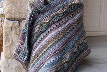 Knitting Shawl...