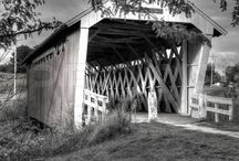 """Bridges of Madison County"" / #bridgesofmadisoncounty #madisoncountyiowa #iowa Coveredbridges"