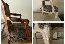 muebles en decape / pintura de muebles y accesorios,con tecnica de estilo shabby chic y vintage