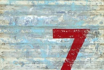 Sevens / anything with the numeral 7, cuz it's my favorite / by Pamela Polston
