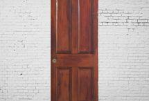 パネルドア / 実際に英国で使われていたアンティークパネルドアのご紹介