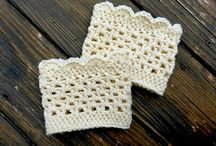 Crochet Boot Cuffs / by Sandra Lehr