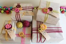 Wrapping/Gift Ideas / by Misty Bacon Obermeier