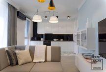 Aranżacje Perfect Space - Kolor na mieszkaniu