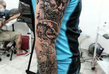 Neptune tattoos