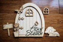 Etch n' Scratch Laser Cut goodies / Laser Cut items that are made by Etch n Scratch