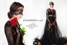 Halloween inspiration POEMA / Tinute pentru Halloween cu creatii POEMA