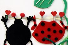 Felt pictures / handmade felt pictures for kids. My invention, my work, my pleasure:)