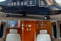 luxurious helicopter