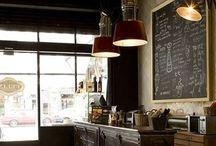 Cafeterias / Decoración, ideas. / by Rossana Maldonado