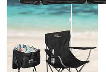 Out door branded gifts, branded umbrellas, branded chairs, branded cooler boxes, braai sets