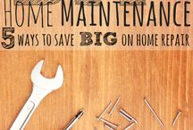 HOME REPAIR & MAINTAINENCE / by Lesa Steele