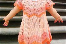 Crochet kids dresses