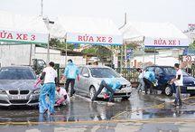 Rửa xe ô tô bằng nước gì?