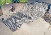 Street and installation art