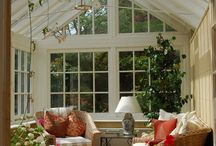 Conservatory & SUN Room / Spaces with walls of glass.