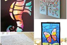 Art Project Ideas for little learners