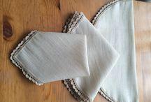 Filet crochet, Filethäkeln / Filet crochet, Filethäkeln