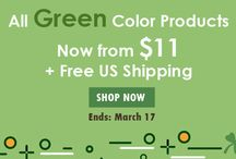 Happy St. Patrick's Day Sale / ShaziShop also offers you Happy St. Patrick's Day Sale on this day every year. Enjoy up to 50% discount and as well as free US shipping on all green color products including women's dresses, blouses, shorts, men's shirts, jewelry sets, women's footwear, watches, eyewear, scarves and ties, beading sheets, mobile cases & covers, and much more.