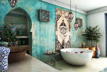 Marokkansk baderom