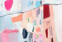 Find beauty in the abstraction / Some abstract paintings some not. But all are beautiful