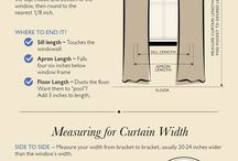 Measuring curtains