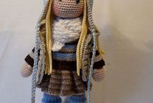 mis muñecas en crochet