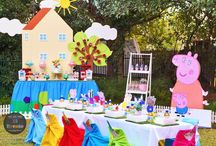 Peppa pig bday theme