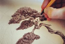 Pointillism / I am a God of the paper for this beautiful moment