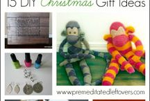 Homemade Christmas / Homemade Christmas gift ideas