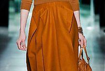 fashion:  brown