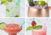 Mocktail drinks