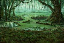 Густые леса
