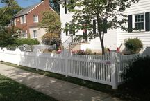 Vinyl Picket Fence / Vinyl Fence is a lifetime investment to increase any homes curb appeal