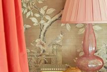 Papered Walls / Dramatic Wall paper