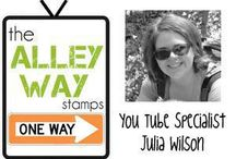 TAWS DT Julia W / Come look at the AMAZING creations made by The Alley Way Stamps DT