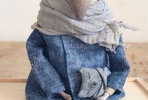 Куклы Марины Глебовой