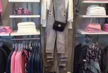Shop Display - Retail fashion displays - Garment rails / babywear display / slatwall panel