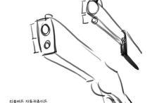 Guns for drawing