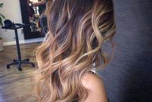 Haarfarbe lange Haare