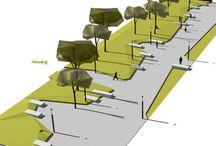 Shared driveways and walkways
