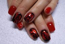 My nails! / Hi! here in these pictures I will show their nails:) I hope you will enjoy my nails! :)