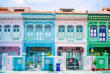 SINGAPOUR / Envie de vous en évader à Singapour ? Voici ma sélection d'épingles sur les paysages, destinations à Singapour