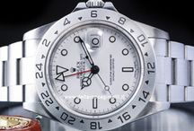 Rolex Explorer II / Rolex Explorer II 16570-16550. Collezione Orologi Sportivi. Bracciale oyster, lunetta e lancetta 24 ore. Lancetta 12 ore con regolazione indipendente per l'indicazione simultanea dell'ora di due fusi orari. Orologio subacqueo 100 m.,spalletta di protezione della corona di carica. Rientra nella categoria Orologi automatici..