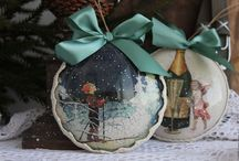 Новогодние шары #мастерскаястейси