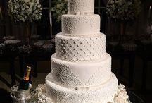 Wedding Cake and Food